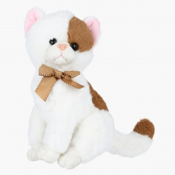 Juniors Plush Sitting Cat Soft Toy