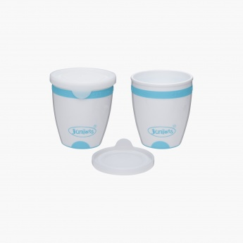Juniors Printed Storage Pot - Set of 2