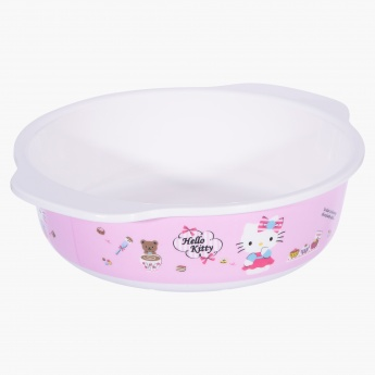 Hello Kitty Printed Bowl with Lid