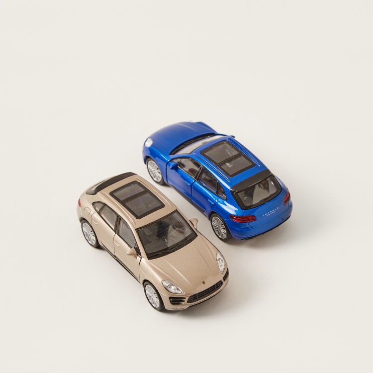 Welly Porsche Macan Turbo Twin Car Set