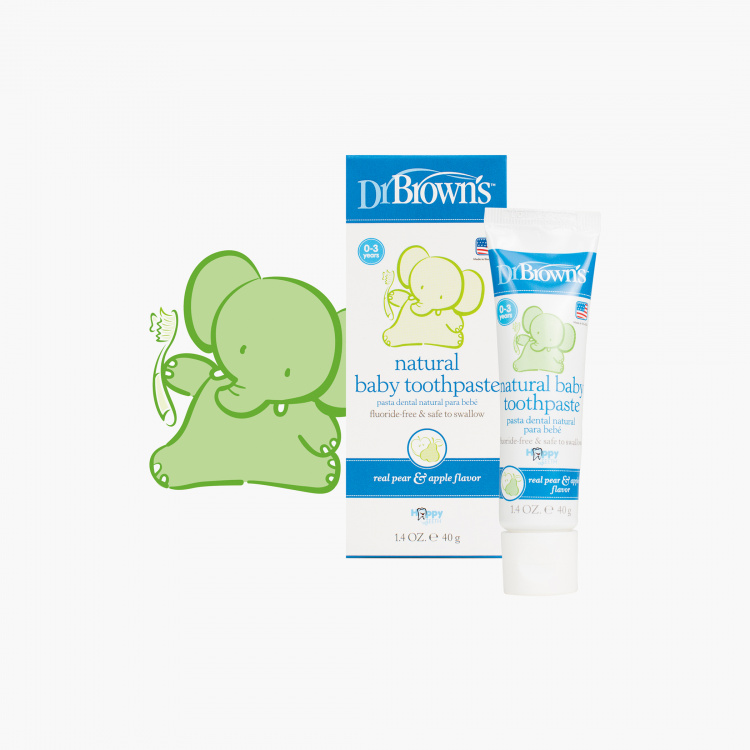Dr. Brown's Natural Baby Toothpaste