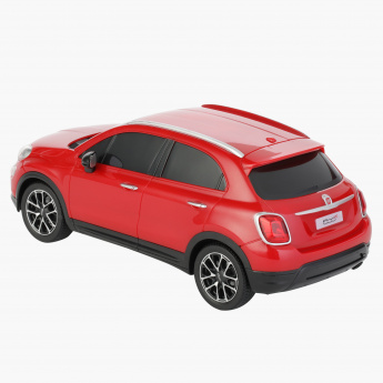 RW Fiat 500X Toy Car with Remote Control
