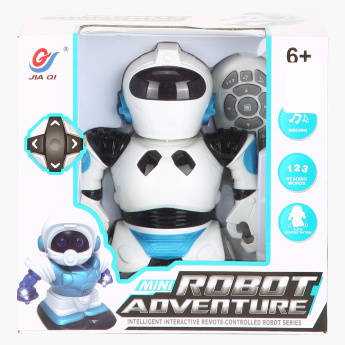 Mini Robot Adventure Toy with Remote Control