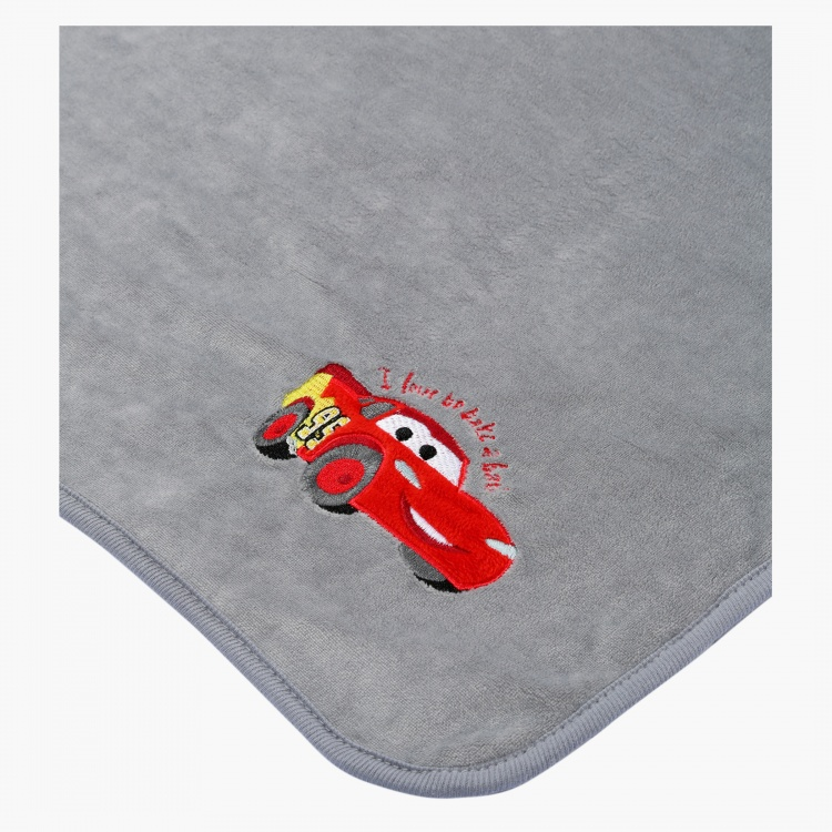 Cars Embroidered Blanket