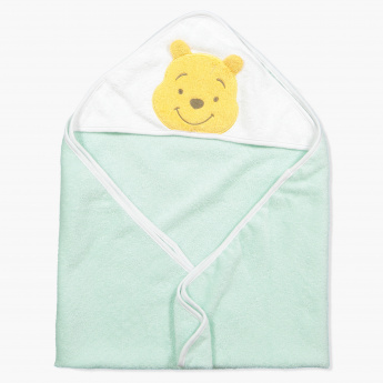Winnie the Pooh Embroidered Towel with Hood