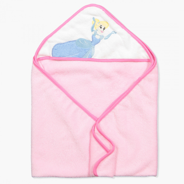 Cinderella Embroidered Towel with Hood