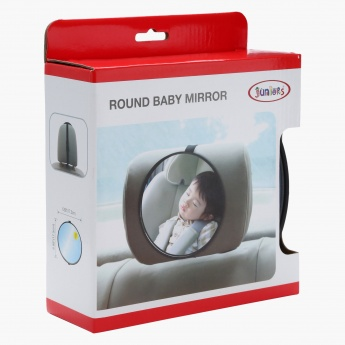 Juniors Round Baby Mirror