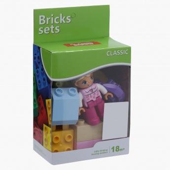 14-Piece Garden Brick Set