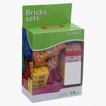 11-Piece Cake Shop Bricks Set