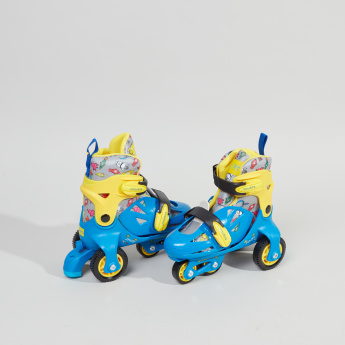 Juniors Printed 2-in-1 Roller Skates