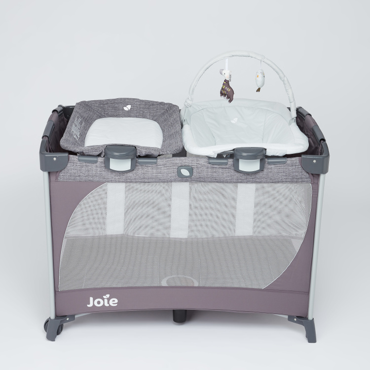 Joie Travel Cot with Zip Closure