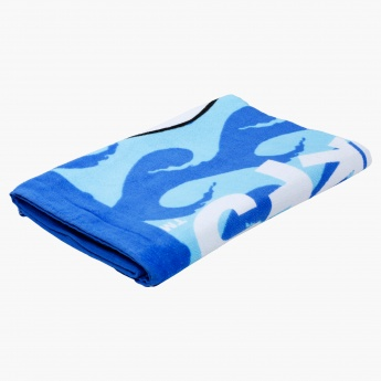 The Smurfs Printed Towel