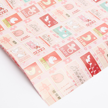 Printed Wrapping Sheet ASSORTED - Set of 3