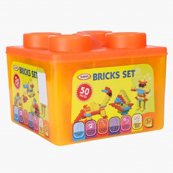 Juniors 50-Piece Bricks Set