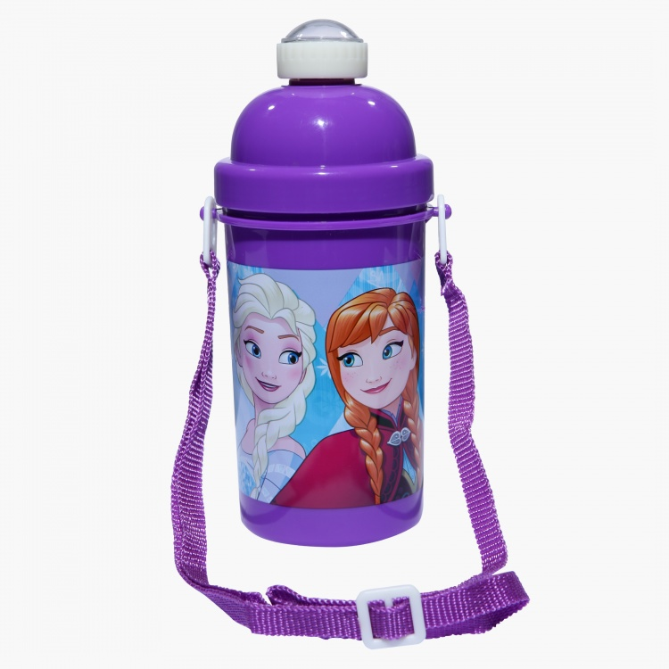 Frozen Printed Water Bottle - 500 ml