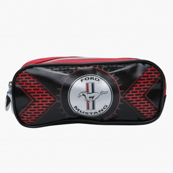 Mustang Printed Pencil Case