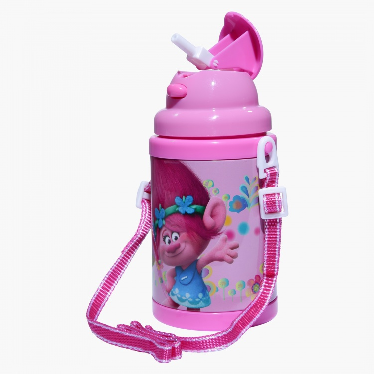Trolls Printed Flip Top Bottle