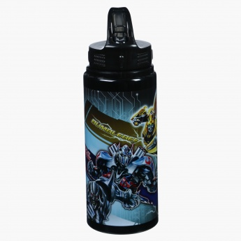 Transformers Printed Water Bottle