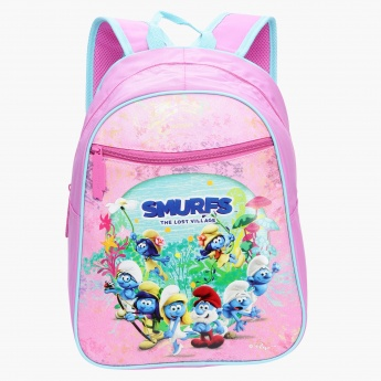 Smurfs Printed Backpack