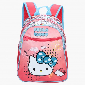 Hello Kitty Printed Backpack