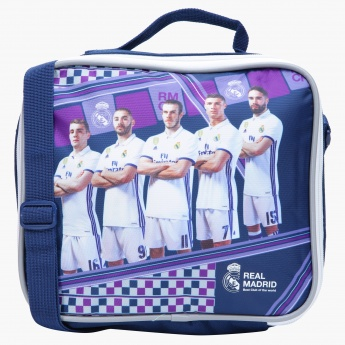 Real Madrid Printed Insulated Lunch Tote
