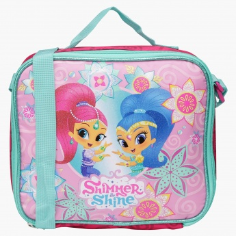Shimmer and Shine Printed Insulated Lunch Tote with Straps