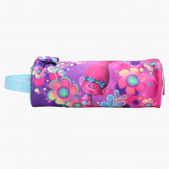 Trolls Printed Pencil Pouch with Zip Closure