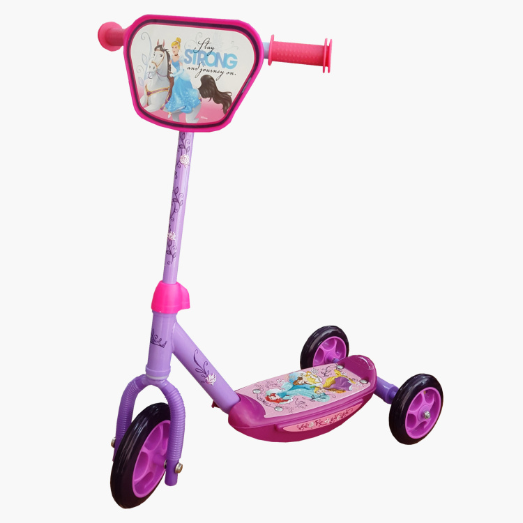 Disney Princess 3-Wheel Kid Scooter