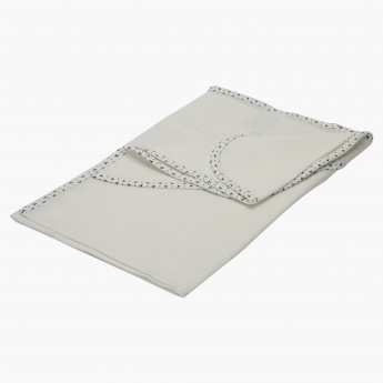 Juniors Embroidered Blanket with Hood - 80x80 cms