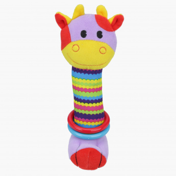 Juniors Jungle Animal Rattle Toy