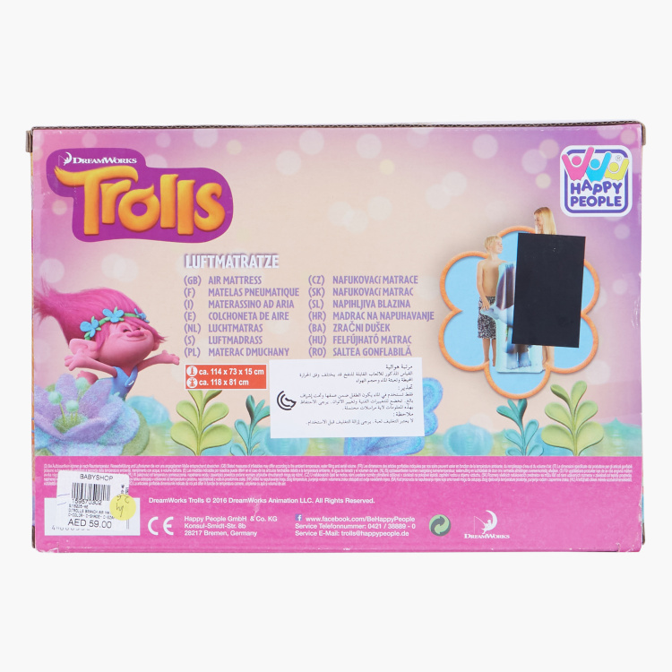 Trolls Print Air Mattress