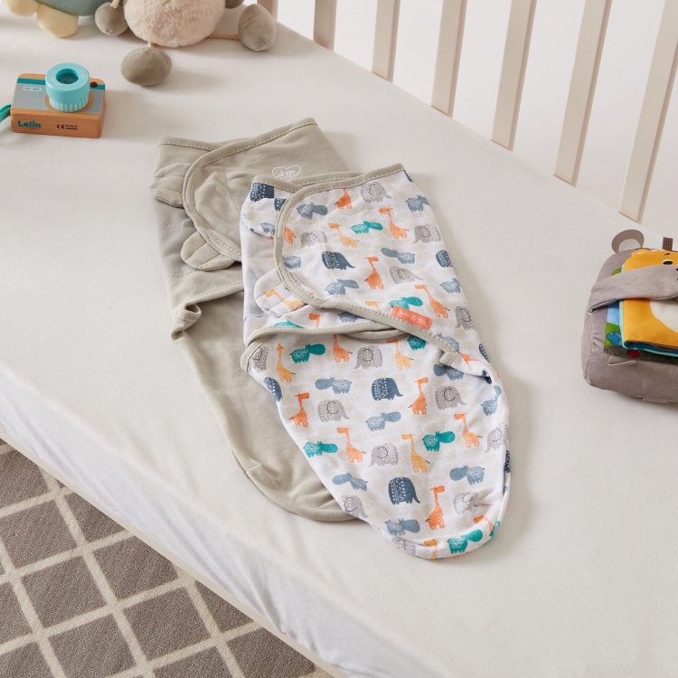 Summer Infant Printed Swaddle Wrap –  Set of 2
