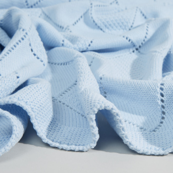 Juniors Textured Baby Shawl - 80x90 cms