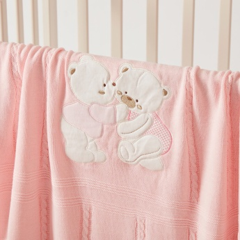 Juniors Embroidered Baby Shawl