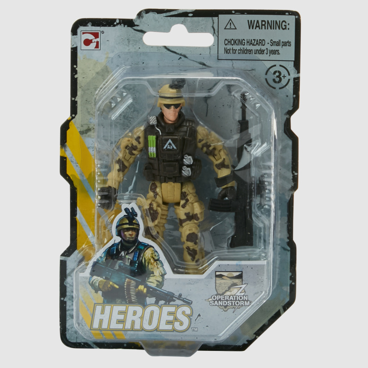 Heroes Force 9 League Soldier Figurine