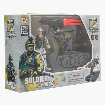 Soldier Force 9 Rapid Action Playset