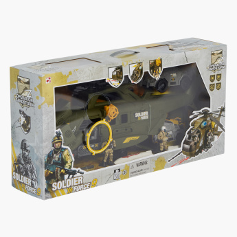 Soldier Force 9 Whirlwind 53 Helicopter Playset