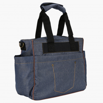 Juniors Diaper Bag with Stitch Detail
