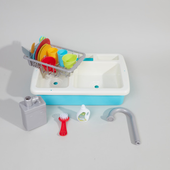 Playgo Wash-Up Kitchen Sink Playset - 20 Pieces