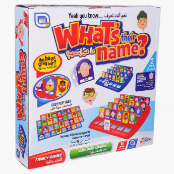 What's Their Name Family Game