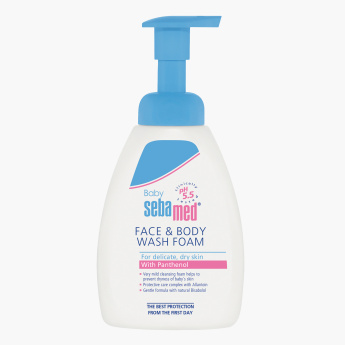 Sebamed Face and Body Wash Foam - 400 ml