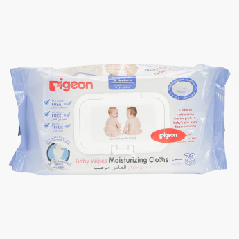 Pigeon Baby Wipes - 70 Sheets