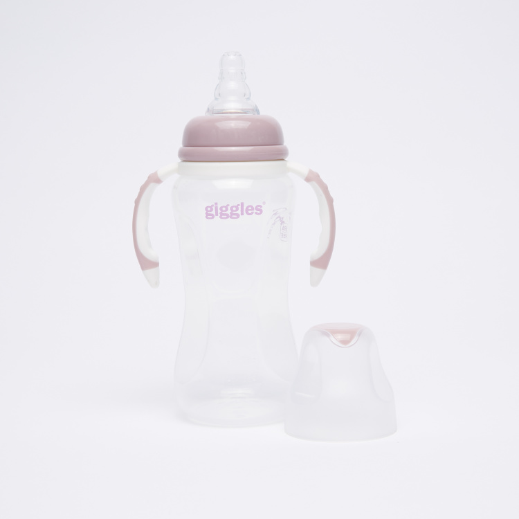 Giggles Feeding Bottle with Handles - 240 ml