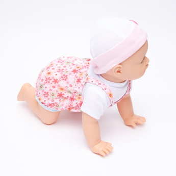 Juniors Giggles and Wiggles Crawling Mila Doll