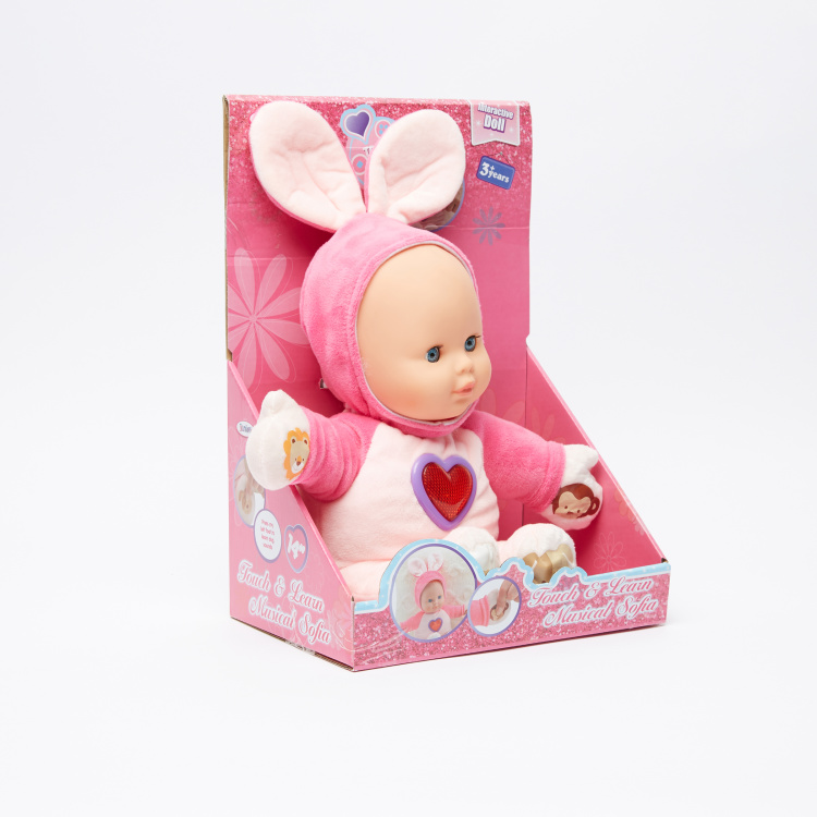 Juniors Touch and Learn Musical Sofia Doll