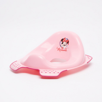 Keeper Minnie Mouse Printed Toilet Seat with Anti-Slip Function
