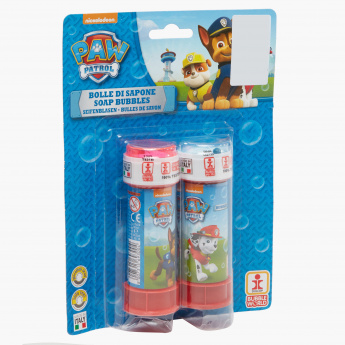 Paw Patrol Printed Bubbles Blister - Set of 2