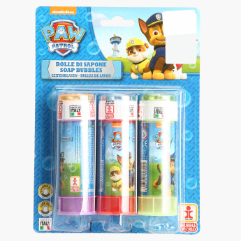 Paw Patrol Soap Bubble Toy - Set of 3