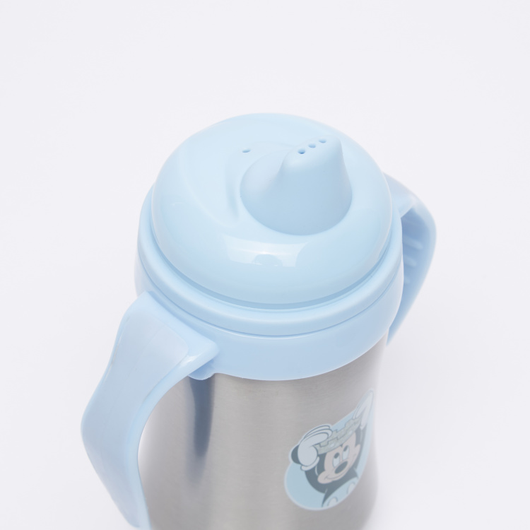 Mickey Mouse Printed Sippy Cup with Handle