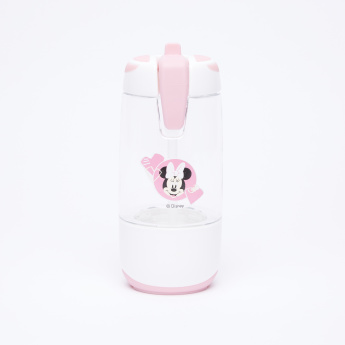 Minnie Mouse Printed Snack-n-Sip Water Bottle